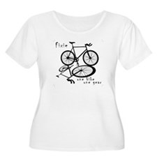 Fixie - one bike one gear T-Shirt