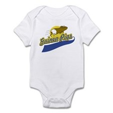 Guinea Pig Athletic (Blue) Infant Creeper