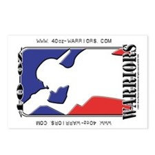 40-oz Logo - Postcards (Package of 8)
