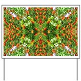 Flower Garden Carpet 5 Yard Sign