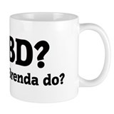 What would Brenda do? Small Mugs