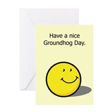 Have a nice Groundhog Day Greeting Card