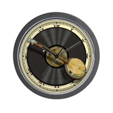 Banjo Music Wall Clock
