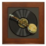 Banjo Music Framed Tile