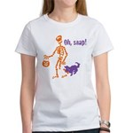 Oh, Snap Skeleton Women's T-Shirt
