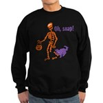 Oh, Snap Skeleton Sweatshirt (dark)
