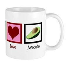 Peace Love Avocado Mug
