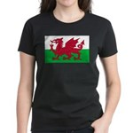 Welsh Flag Women's Dark T-Shirt