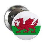 Welsh Flag 2.25&quot; Button (100 pack)