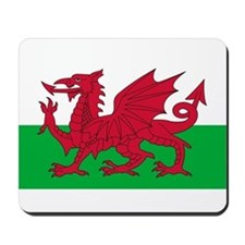 Welsh Flag Mousepad