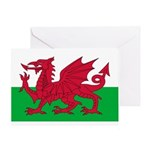 Welsh Flag Greeting Card