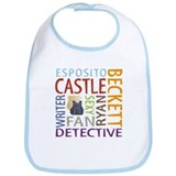 Castle Fan Bib