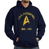 U.S.S. Enterprise Retro  Hoodie