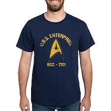 U.S.S. Enterprise Retro T-Shirt