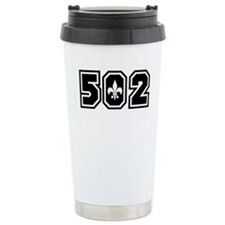502 Black Ceramic Travel Mug
