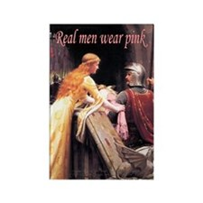 God Speed! in pink Rectangle Magnet (100 pack)