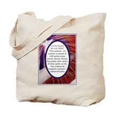Salmon Rushdie Freedom Quote Tote Bag