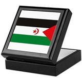 Western Sahara Flag Keepsake Box