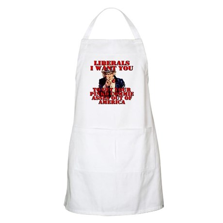 Anti Pinko Commie Liberals BBQ Apron