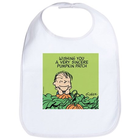 Sincere Pumpkin Patch Bib