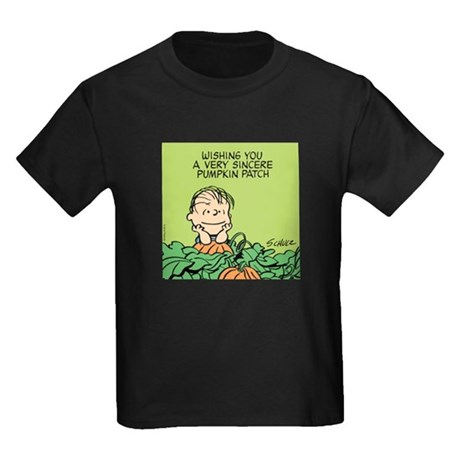 Sincere Pumpkin Patch Kids Dark T-Shirt
