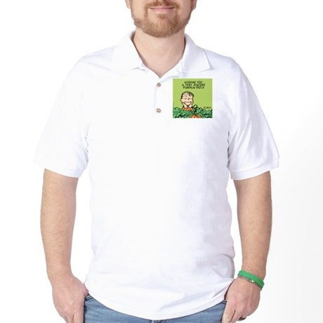 Sincere Pumpkin Patch Golf Shirt