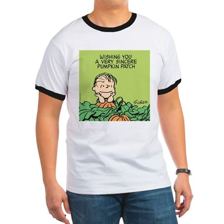 Sincere Pumpkin Patch Ringer T