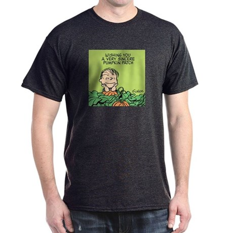 Sincere Pumpkin Patch Dark T-Shirt