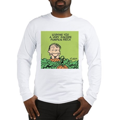 Sincere Pumpkin Patch Long Sleeve T-Shirt