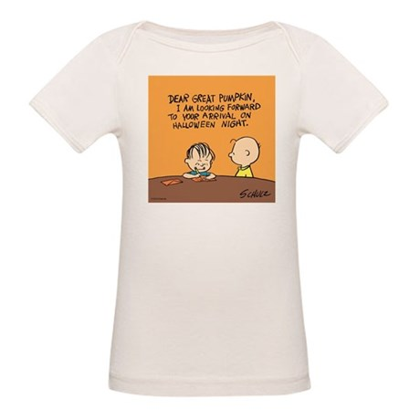 Letter to the Great Pumpkin Organic Baby T-Shirt