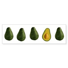 Avocados Bumper Sticker