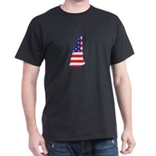 NH USA Flag Map 1 T-Shirt