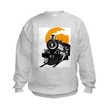 Cute Locomotive Sweatshirt