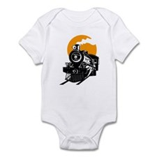 Cute Locomotive Infant Bodysuit