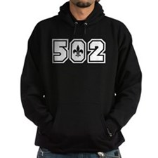 Black/White 502 Hoodie