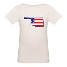 OK USA Flag Map 1 Tee
