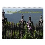 Colorado Mountain Cemeteries Wall Calendar