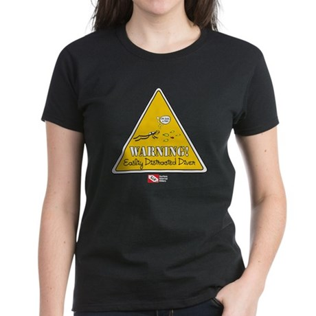 Distracted Women's Dark T-Shirt