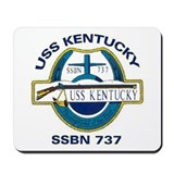 USS Kentucky SSBN 737 Mousepad