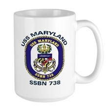 USS Maryland SSBN 738 Coffee Mug