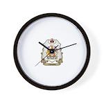 Canada Shield Wall Clock