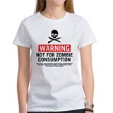 Zombie Food Warning Tee