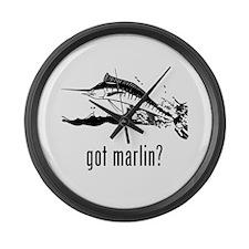 Marlin Large Wall Clock