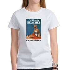 Logan California Beaches Tee