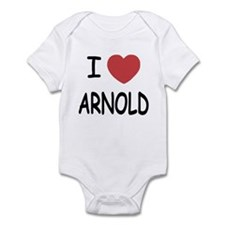 I heart Arnold Infant Bodysuit