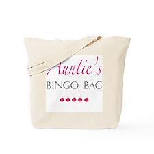 Auntie's Bingo Bag Tote Bag