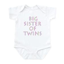 Big Sister of Twins Infant Bodysuit