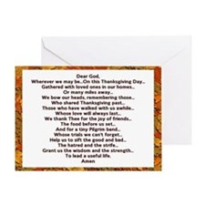 Thanksgiving Prayer Greeting Card