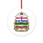 Alberta Shield Ornament (Round)