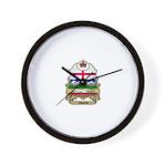 Alberta Shield Wall Clock